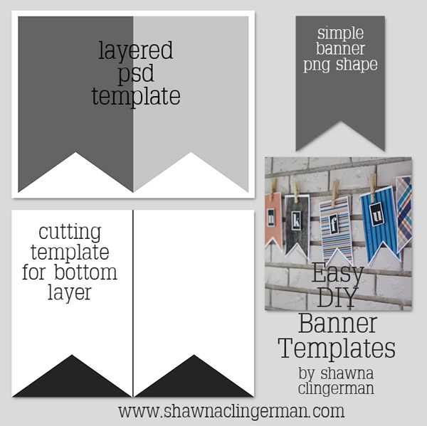 Free Easy DIY Banner Templates