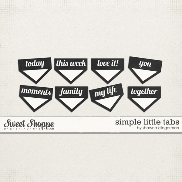 Free Tuesday: Simple Little Tabs for you!