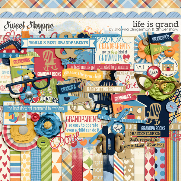 Life Is Grand by Shawna Clingerman and Amber Shaw