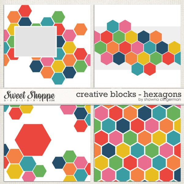Creative Blocks: Hexagons by Shawna Clingerman