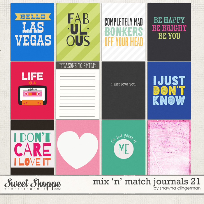 journal card set 21