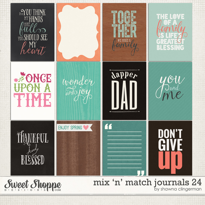 journal card set 24
