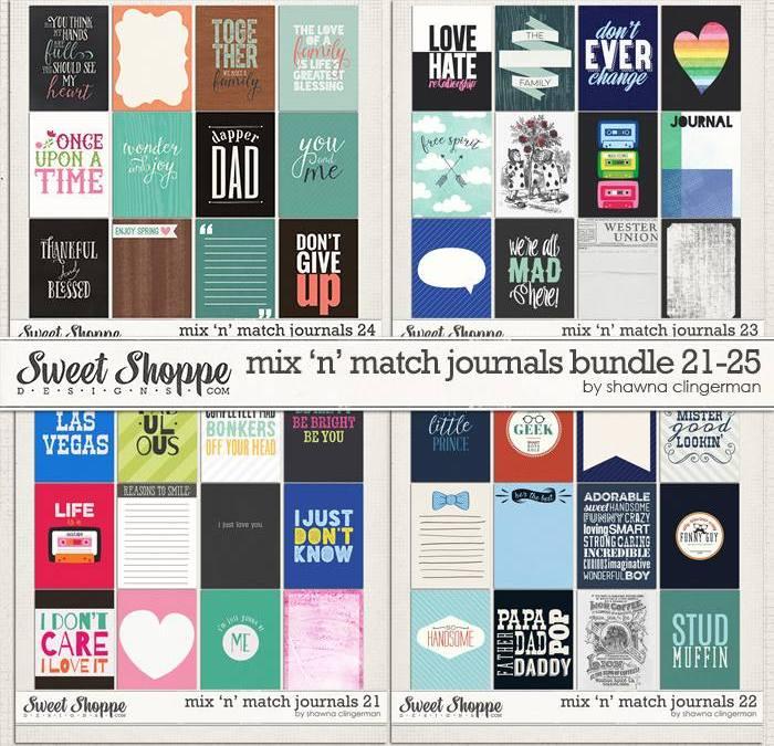 Mix 'n Match Journal Cards