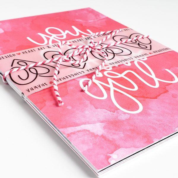 Inspirational Art Heart Prints by Shawna Clingerman