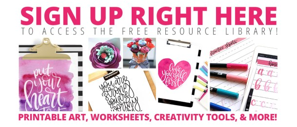 Click Here For my FREE Resource Library!