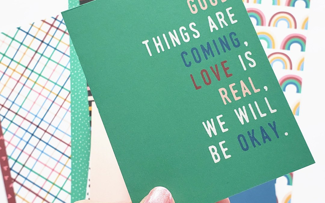 Never Alone – My Newest Collection in the Illustrated Faith Print and Pray Shop!