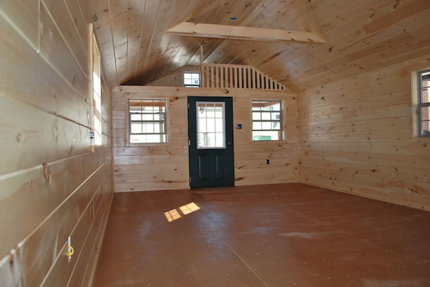 Camping Cabin Interior Finish Pennsylvania Maryland And