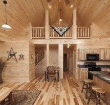 Deluxe Lofted Barn Cabin Floor Plans