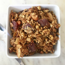 Keto Sweet Bacon Granola Recipe