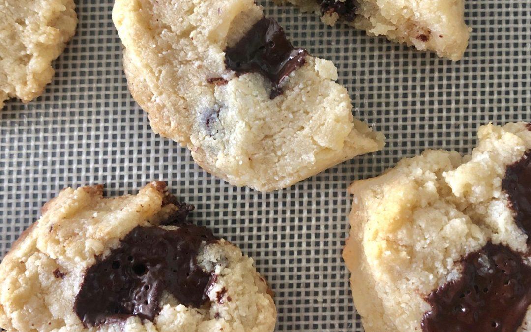 Keto Coconut Butter Tahini Cookies