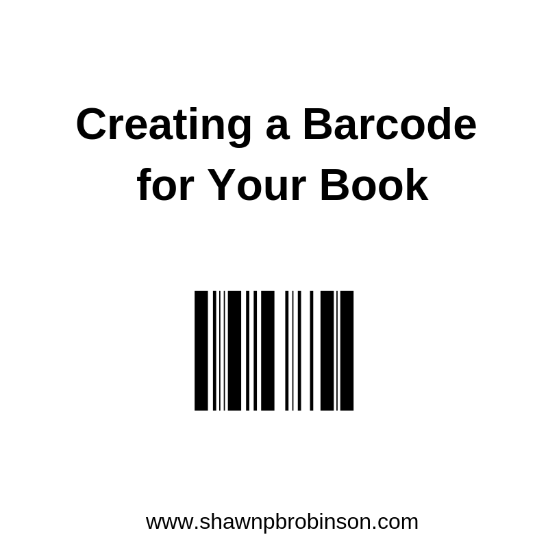 Creating A Barcode For Your Book Self Publishing On A Budget