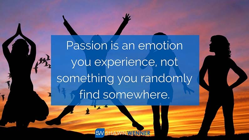 Experience Passion SW Article
