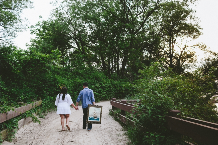 Where the wild things are inspired engagement session