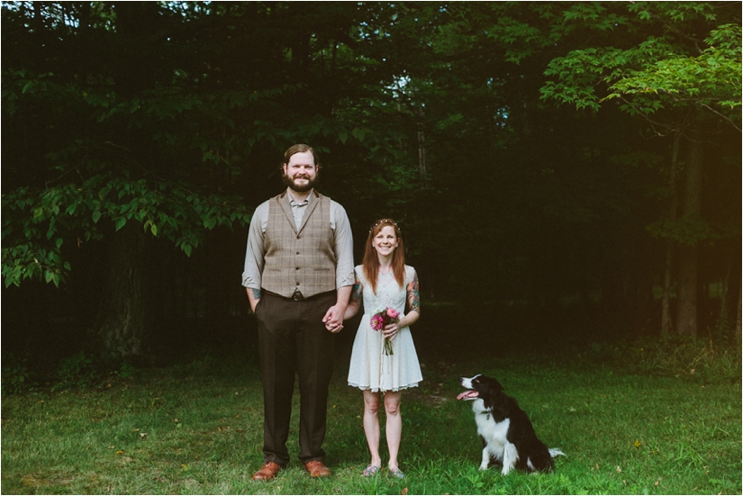 Camp 7 Hills Wedding | Holland, New York Alternative Wedding Photographers