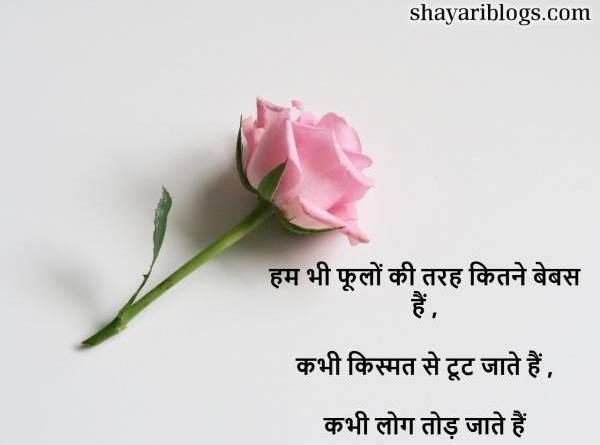 Hindi Shayari on Broken Heart