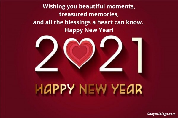 happy new year english quotes image