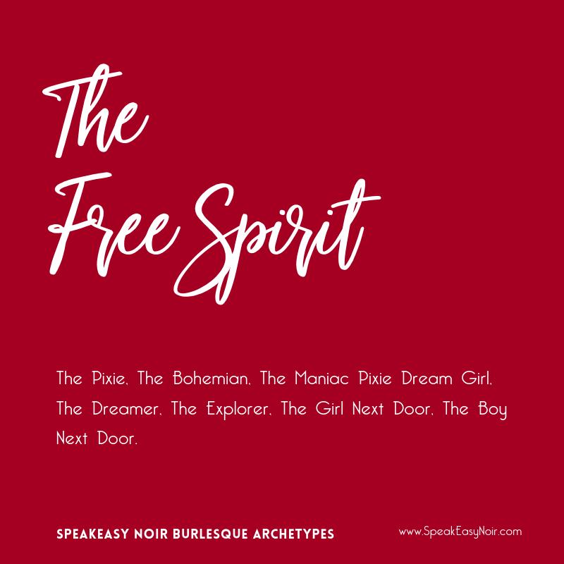 """The Free Spirit Burlesque Archetype"" - www.shayaulait.com"