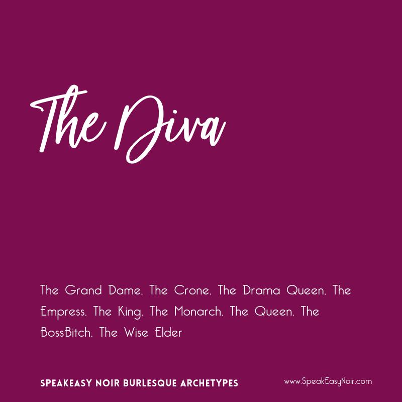 """The Diva Burlesque Archetype"" – www.shayaulait.com"