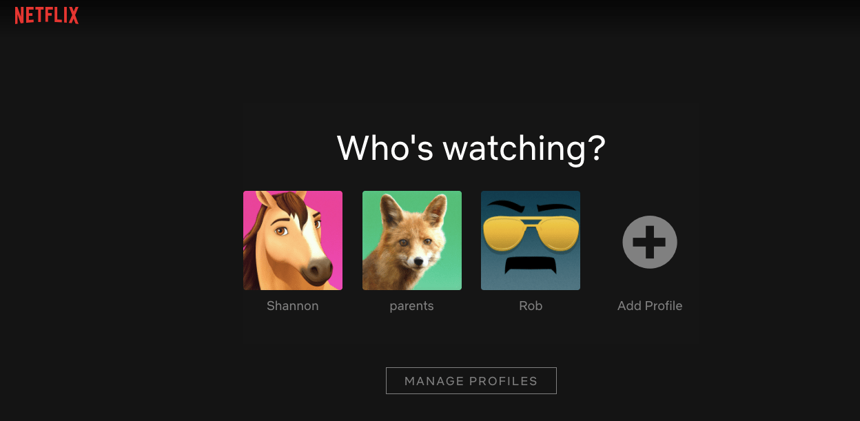 How to make a custom profile picture for Netflix