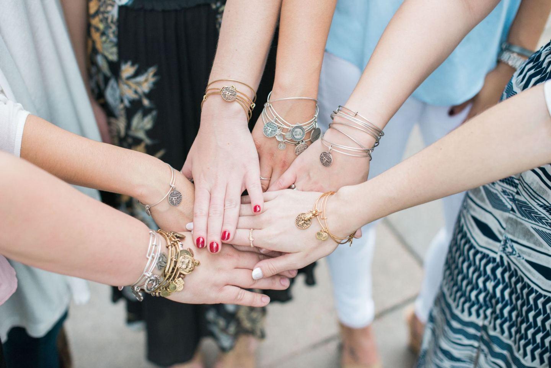 Bracelets:  Alex and Ani