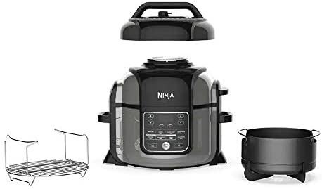 Ninja Foodi OP305 6.5 Quart TenderCrisp Pressure Cooker – Black/Gray