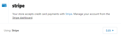 Strip to recieve money from shopify