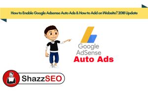 How to Enable Google Adsense Auto Ads & Increase Adsense Revenue 2x? 2018 Update