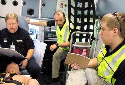 Paramedic Training 2013