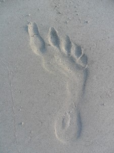 The Sinister Footprint in the Sand