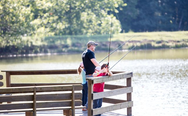 Event Photography - Fishing at Taylor Ranch