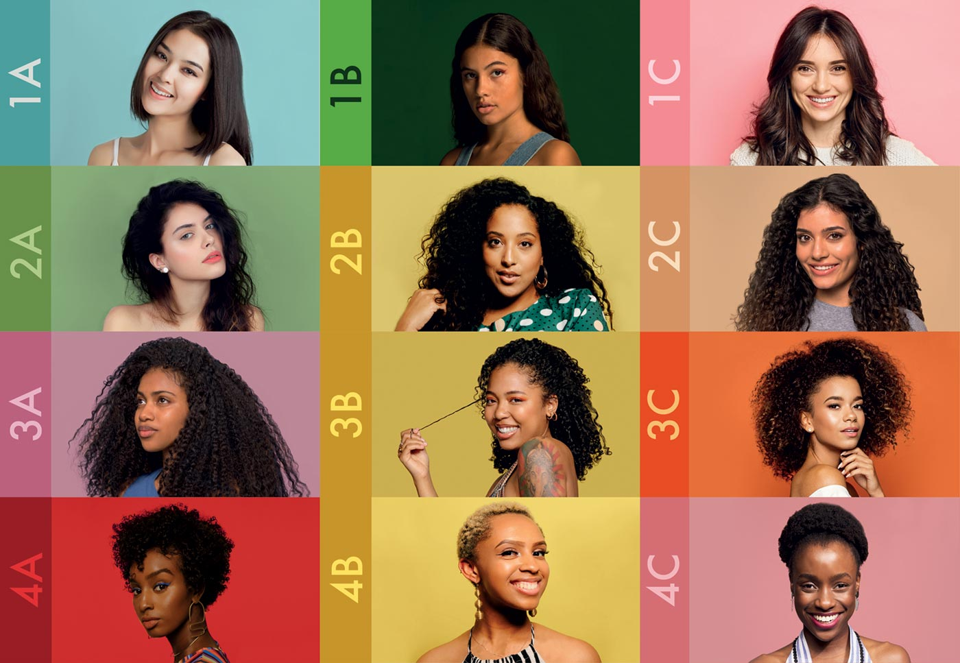 Hair Type Chart What Is Your Natural Hair Type