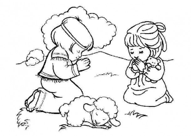 Bible Coloring Pages For Kindergarten