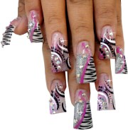 duck flare nail tips designer