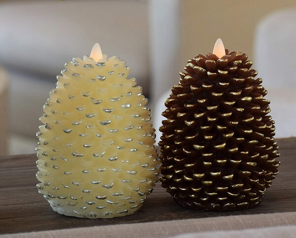Flickering Flame Effect Candles