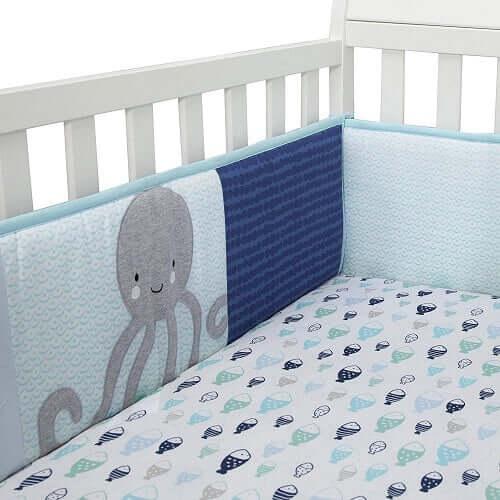 Oceania 4-Piece Crib Bumper
