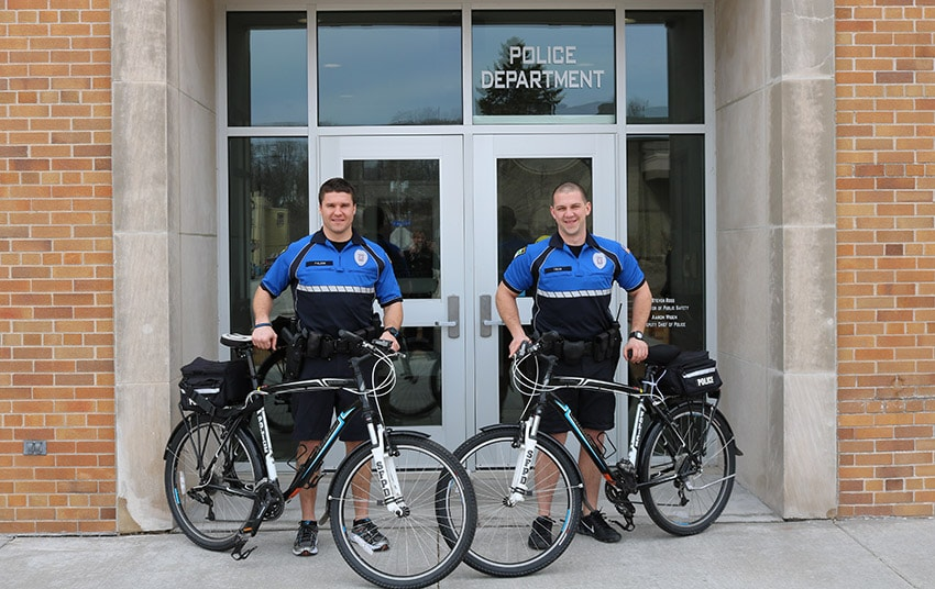 city of sheboygan falls police department's bike patrol