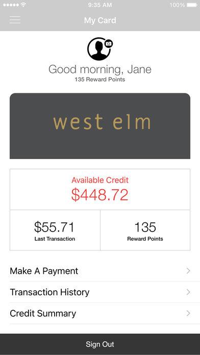 West Elm Credit Card Guide