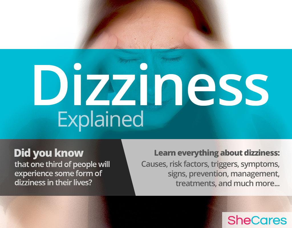 Dizziness - Hormonal Imbalance Symptoms | SheCares