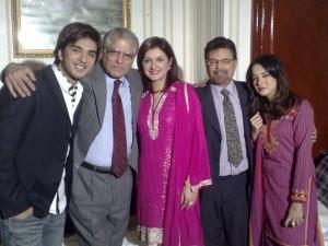 Imran Abbas with Family  SheClickcom