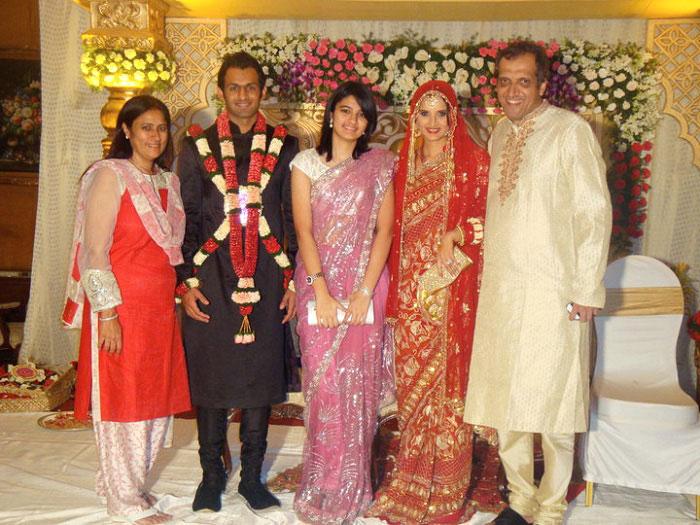 Sania Mirza And Shoaib Malik Wedding Images