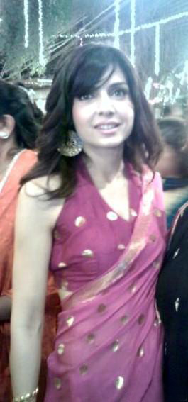 Mahnoor Baloch in Saree  SheClickcom
