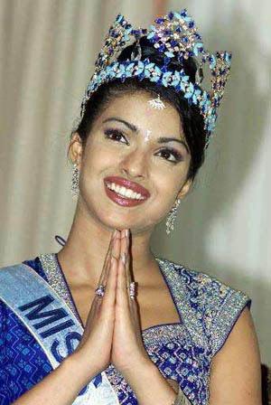 Priyanka Chopra Miss World  SheClickcom