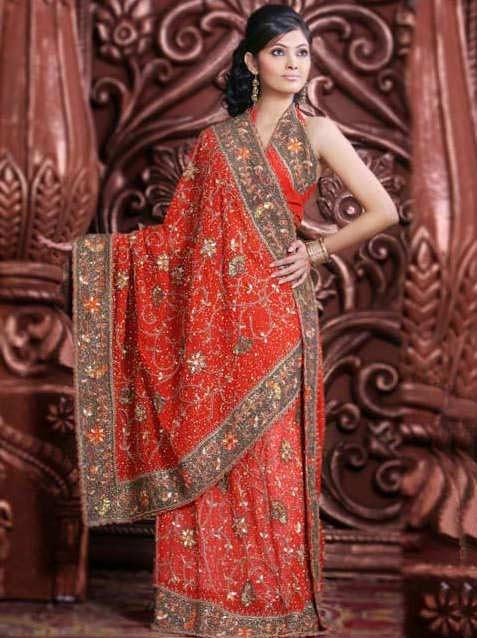 Pakistani Dupatta Designs For Girls Fancy Styles