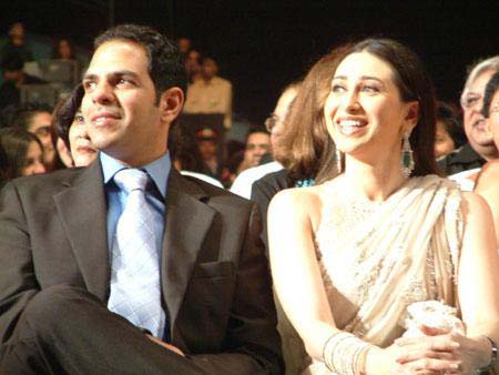 Karishma Kapoor with Her Husband  SheClickcom