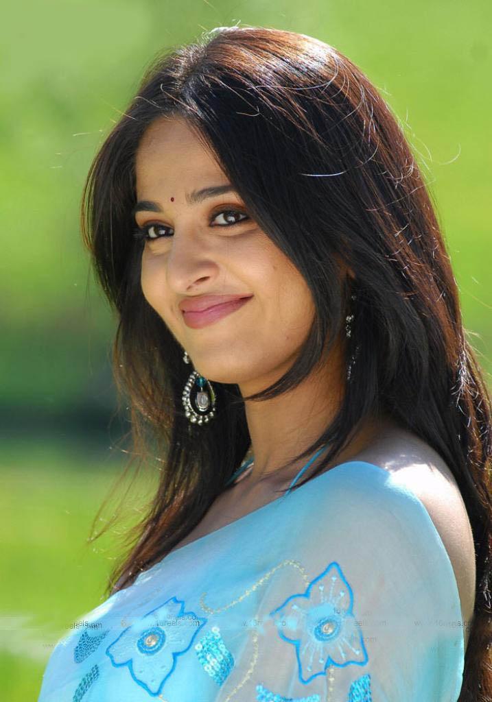 Anushka Shetty Smiling Indian Actress  SheClickcom