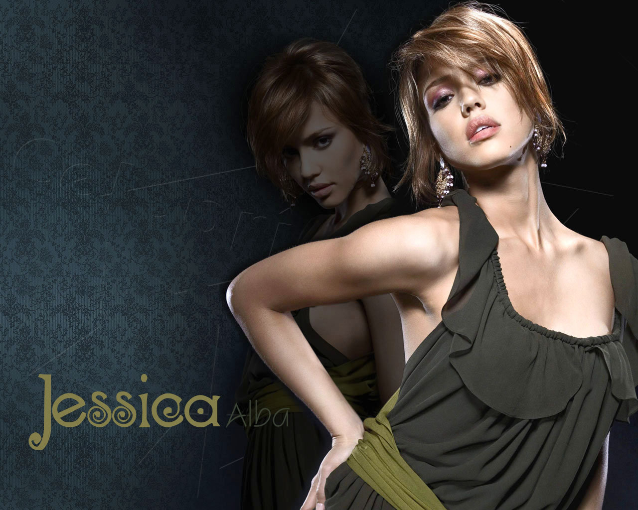Jessica Alba Hot Model Picture  SheClickcom