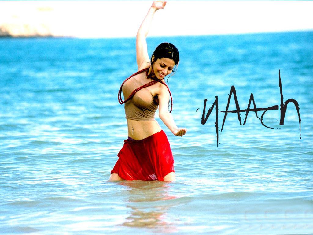 Antara Mali Bathing in Wet Dress  SheClickcom