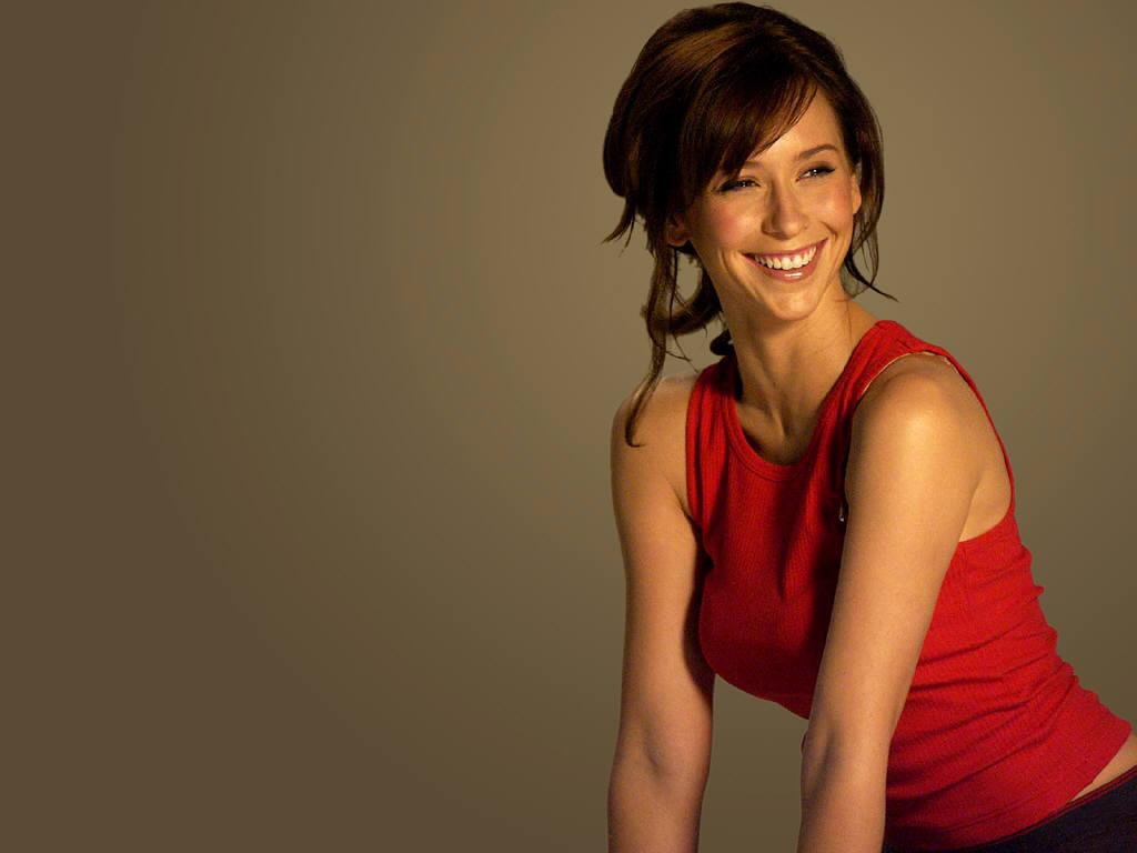 Jennifer Love Hewitt in Red Dress  SheClickcom