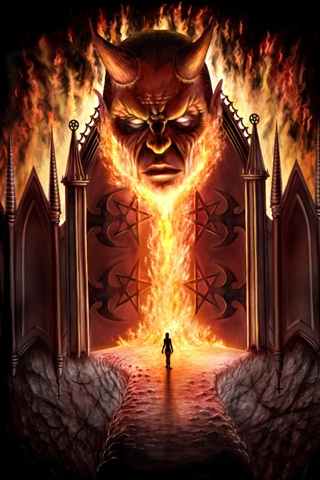Gates of Lucifer Wallpaper  SheClickcom