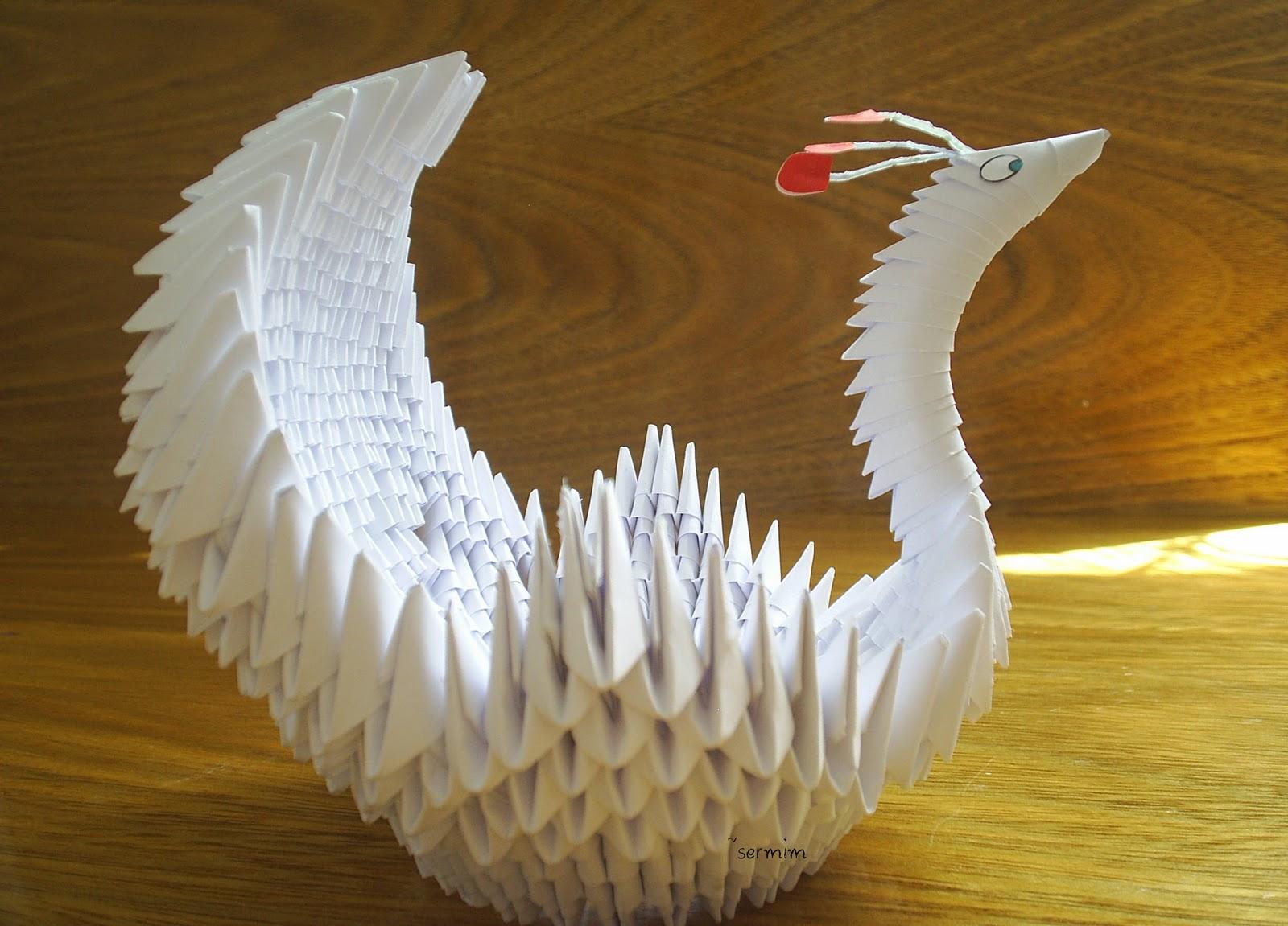 Fifteen Outstanding Origami Paper Art Pictures